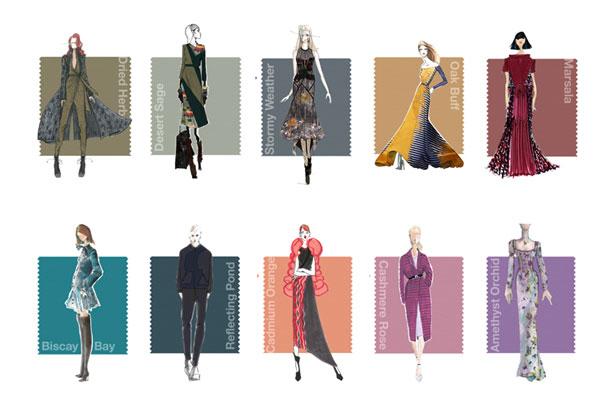 Max Mara schwarzer anzug frau mode herbst winter 2013 2014