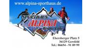 Alpina Sporthaus, Bistrorante