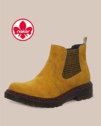 Rieker, Chelsea Boot, Gelb