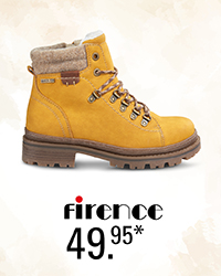 Firence, Hiking Boot, Gelb, 49,95 Euro