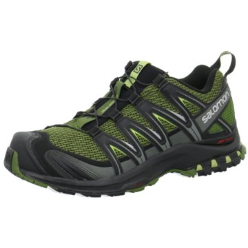 Salomon - SHOES XA PRO 3D Chive/Black/Beluga -