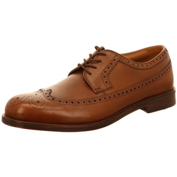 Clarks - Coling Limit Tan Leather -