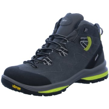 HIGH COLORADO - Treviso Mid Vibram Men,grau-lime -
