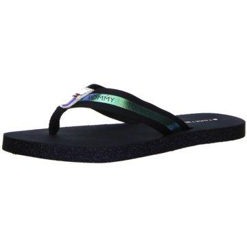 Tommy Hilfiger Damen Iridescent Detail Beach Sandal Zehentrenner
