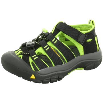 Keen - NEWPORT H2 C-BLACK/LIME GREEN -