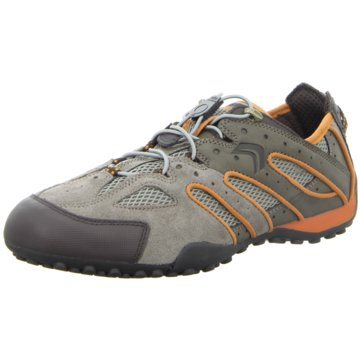 Geox - U SNAKE J - SCAM.TAUPE/ORANGE -