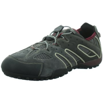 Geox - U SNAKE J - SCAM.- GREY/RUBY -