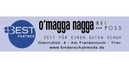 o'magga nagga bei Poss -  Ihr Kinderschuhspezialist